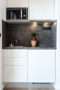 A kitchen or kitchenette at Maslina Apartments