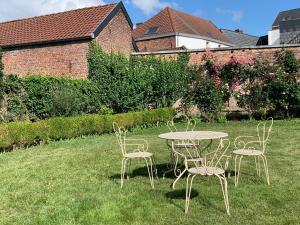 A garden outside Villa Theresa