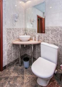 Ванная комната в Апарт-отель Hills Hotel