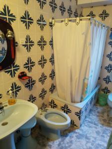 Un baño de CASA RURAL VILLADANIELA