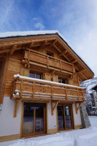 Chalet Faverot 1 during the winter