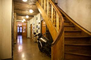 The lobby or reception area at Two Wheels