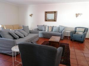 A seating area at Marchanta