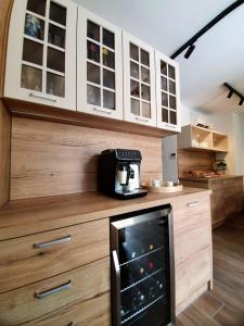 Cuisine ou kitchenette dans l'établissement Casa Isabella B&B