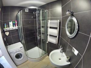 Łazienka w obiekcie Apartamenty Apartlux