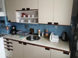 Kuchyň nebo kuchyňský kout v ubytování U Ladi