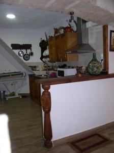 A kitchen or kitchenette at La Cueva de Juan Pedro