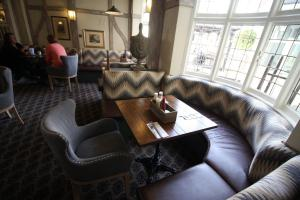 A seating area at The White Hart