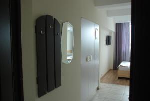 A bathroom at Smart House