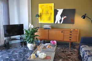 TV o dispositivi per l'intrattenimento presso The flat via roma 45