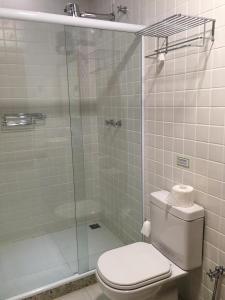 Um banheiro em Pousada Albatroz