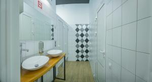 A bathroom at Khosta Hostel