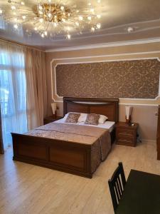 Кровать или кровати в номере MarkHills