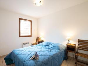 A bed or beds in a room at Apartment Le Clos Mathilde-10