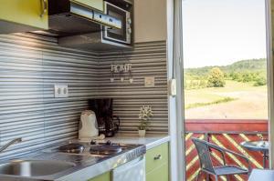 Kuchyň nebo kuchyňský kout v ubytování Guesthouse Rubcic