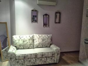 A seating area at Hosteria Solar de Tejada