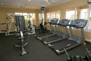 The fitness centre and/or fitness facilities at Windsor Hills Villa