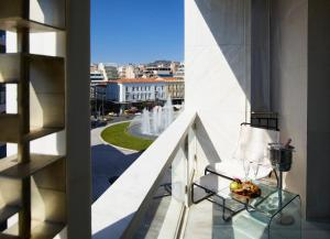 A balcony or terrace at Brown Acropol a member of Brown Hotels
