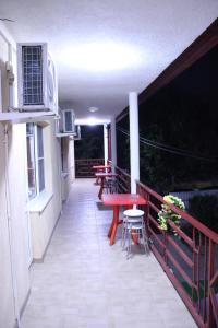 A balcony or terrace at Maya - gostevoy dom