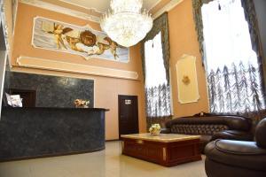The lobby or reception area at Indigo Hotel
