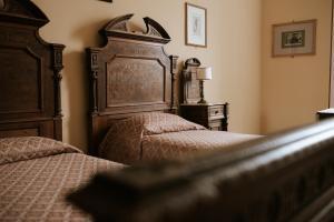 Letto o letti in una camera di Royal Victoria Hotel