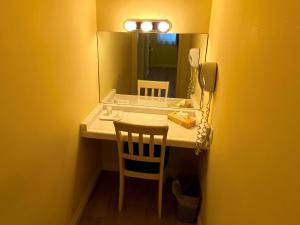 Ein Badezimmer in der Unterkunft Hollywood Celebrity Hotel