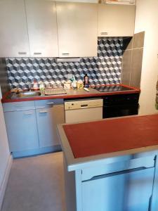 A kitchen or kitchenette at l'Argentiere