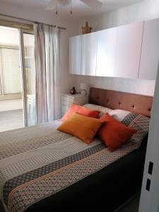 A bed or beds in a room at l'Argentiere