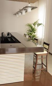 Кухня или мини-кухня в Отель Чижик