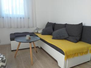 Posezení v ubytování Apartment Sučić