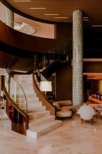 The lobby or reception area at Hilton Swinoujscie Resort And Spa