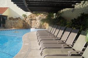 The swimming pool at or near Hotel Argento