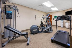 The fitness center and/or fitness facilities at Wingate by Wyndham Helena