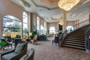 The lobby or reception area at Forest Villas Hotel