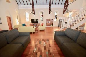 A seating area at The Church @ Woodford