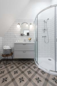 A bathroom at Na Kmíně
