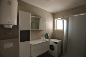 Koupelna v ubytování Ivana