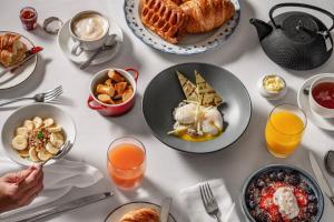 Options de petit-déjeuner proposées aux clients de l'établissement Sofitel Essaouira Mogador Golf & Spa