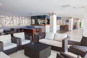 The lounge or bar area at Revoli