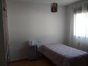 Cama o camas de una habitación en Casa Rural La Galana Albacete