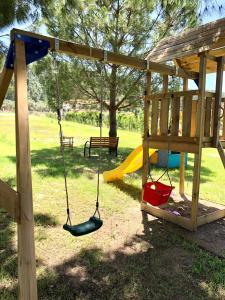 Ο χώρος παιχνιδιού για παιδιά στο Be Happy Apartments