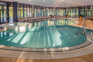 The swimming pool at or near Parkhotel Adler
