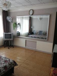 A kitchen or kitchenette at Дом для семейного отдыха или дружной компании