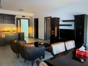 O zonă de relaxare la Sophia Mamaia Center Apartments