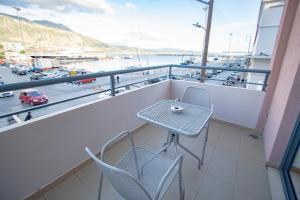 Un balcon sau o terasă la Elektra Hotel & Spa