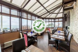 A restaurant or other place to eat at Muthu Westcliff Hotel (Near London Southend Airport)