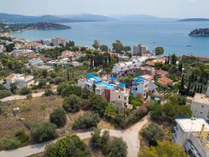 Άποψη από ψηλά του Διαμερίσματα Ηλιότοπος