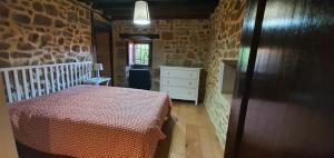 Cama o camas de una habitación en Fuente de Güelo