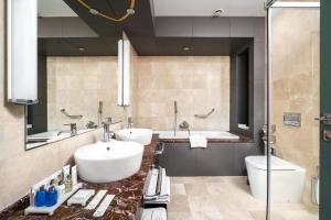 Ванная комната в Radisson Blu Hotel Rostov-on-Don