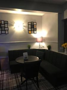 A seating area at The Station Hotel